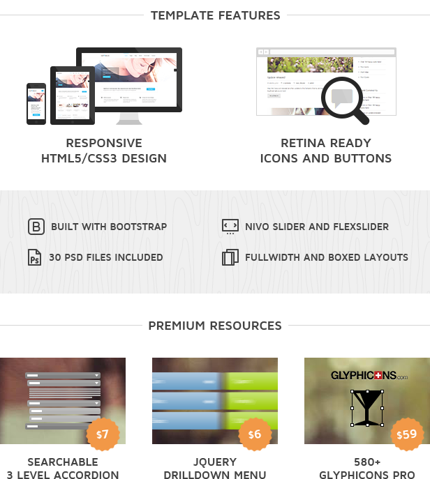 Septimus Responsive Site Template